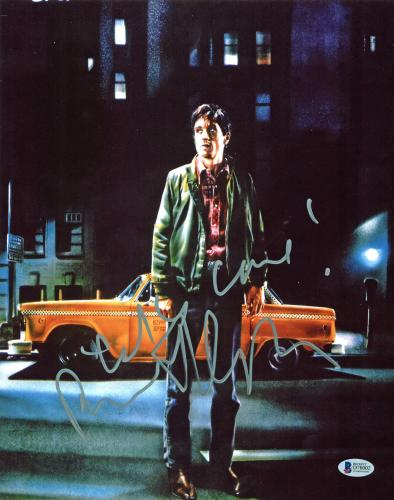 Robert Deniro Taxi Driver Signed 11x14 Photo Autographed BAS #D78002