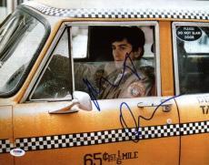 Robert Deniro Taxi Driver Signed 11X14 Photo PSA/DNA #U23757