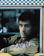 Robert Deniro Taxi Driver Signed 11X14 Photo PSA/DNA #U59087