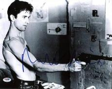 Robert Deniro Taxi Driver Signed 11x14 Photo Psa/dna #u59126
