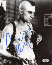 Robert Deniro Taxi Driver Signed 8x10 Photo Psa/dna #t23061