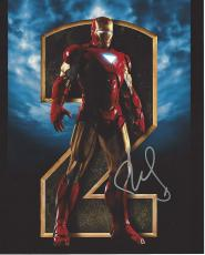 "ROBERT DOWNEY JR. as IRON MAN - Movie ""IRON MAN 3"" earned over $1 BILLION - Signed 8x10 Color Photo"