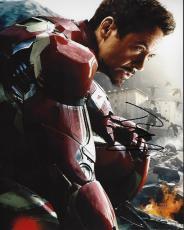 Robert Downey Jr Signed - Autographed IRON MAN Avengers 8x10 Photo