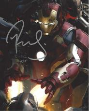 "ROBERT DOWNEY JR. in ""IRON MAN"" as TONY STARK/IRON MAN - Signed 8x10 Color Photo"