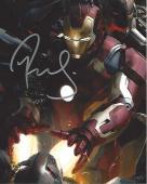 "ROBERT DOWNEY JR. in ""IRON MAN"" as TONY STARK/IRON MAN - Signed 8x10 Color Photo"