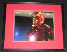 Robert Downey Jr Iron Man 2 Tony Stark Framed 11x14 Photo Poster