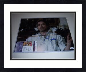 Robert Downey Jr Sherlock Holmes,iron Man Jsa/coa Signed 11x14 Photo