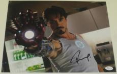 Robert Downey Jr Signed 11x14 Photo Iron Man The Avengers Autograph Jsa Coa A