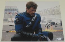 Robert Downey Jr Signed 11x14 Photo Iron Man The Avengers Autograph Jsa Coa D