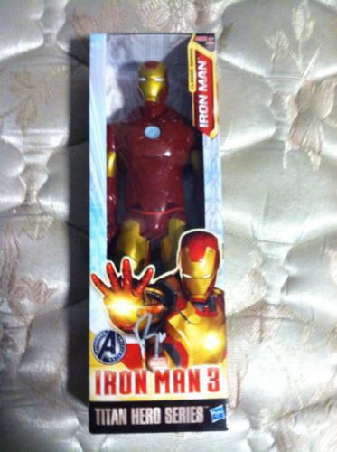 "Robert Downey Jr Signed Autographed Iron Man 3 12"" Action Figure Titan Hero #2"