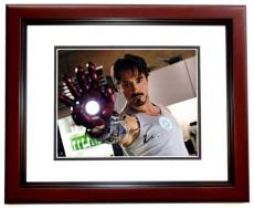 Robert Downey Jr Signed - Autographed IRON MAN AVENGERS 11x14 Photo MAHOGANY CUSTOM FRAME