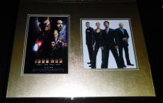 Robert Downey Jr Signed Framed 16x20 Photo Poster Set Iron Man