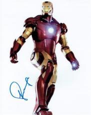 Robert Downey Jr. Signed Iron Man Autographed 8x10 Photo PSA/DNA #Y45932