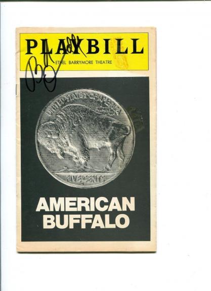Robert Duvall American Buffalo Rare Signed Feb 16 1977 Opening Night Playbill