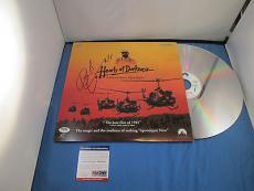 Robert Duvall Apocalypse Now Signed Laser Disc PSA DNA COA Autograph Album