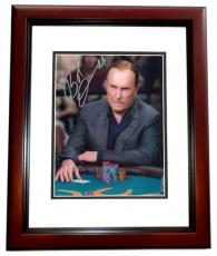 Robert  Duvall 8x10 MAHOGANY CUSTOM FRAME Bob Duvall