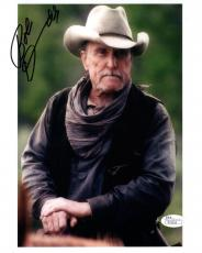 ROBERT DUVALL HAND SIGNED 8x10 COLOR PHOTO     GREAT WESTERN   OPEN RANGE    JSA