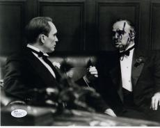 ROBERT DUVALL HAND SIGNED 8x10 PHOTO      WITH BRANDO     THE GODFATHER      JSA