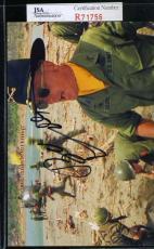 Robert Duvall Jsa Coa Hand Signed Apocalypse Now Photo Authenticated Autograph