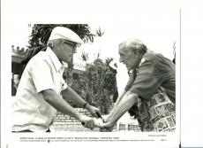 Robert Duvall Richard Harris Wrestling Ernest Hemingway Press Still Movie Photo