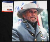 Robert Duvall signed 8 x 10, Gettysburg, Godfather, Apocalypse Now, PSA/DNA