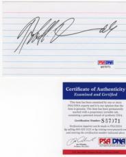 Robert Duvall Signed AUTOGRAPH Index Card PSA DNA