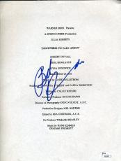Robert Duvall Signed Jsa Certed Script Page Autograph