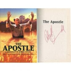 Robert Duvall Signed The Apostle Screenplay Book