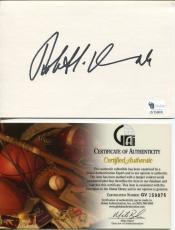 Robert Duvall To Kill A Mockingbird The Godfather Apocalyps Signed Autograph COA