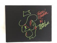 Robert Englund 11x14 Autograph Original Art Canvas BAS Signed Freddy Krueger