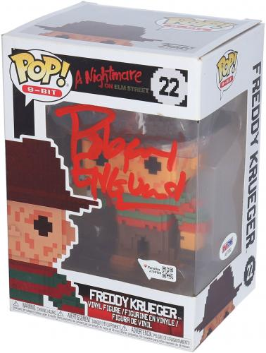 Robert Englund A Nightmare On Elm Street Autographed 8-Bit Freddy Krueger #22 Funko Pop! - PSA