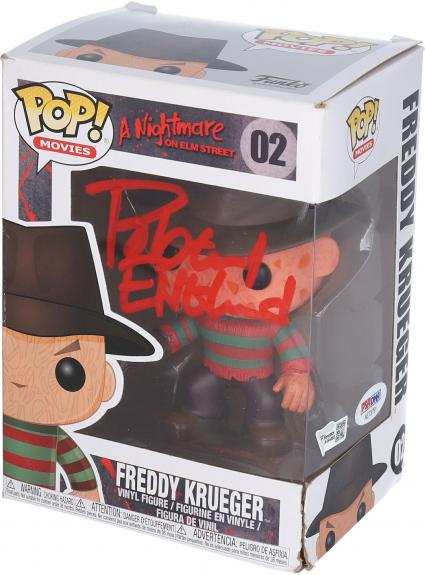 Robert Englund A Nightmare On Elm Street Autographed Freddy Krueger #2 Funko Pop! - Signed in Red Ink - PSA