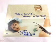 Robert Englund Autograph Freddy Krueger 11x14 Photo BAS Signed #I64283