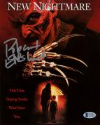 "Robert Englund Autographed 8"" x 10"" Wes Craven's New Nightmare Freddy Krueger Photograph - BAS COA"