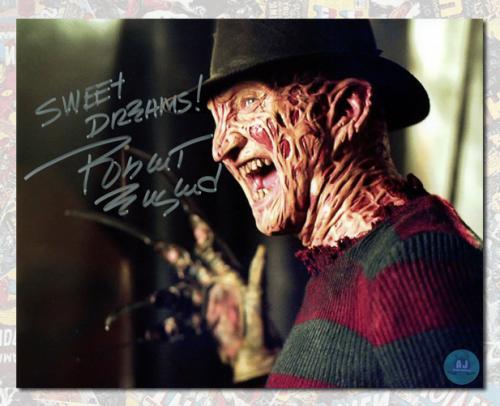 Robert Englund Autographed Nightmare on Elm Street Freddy Krueger 8x10 Photo
