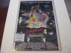 Robert Englund Nightmare On Elm Street Beckett/coa Signed 12x18 Poster Photo