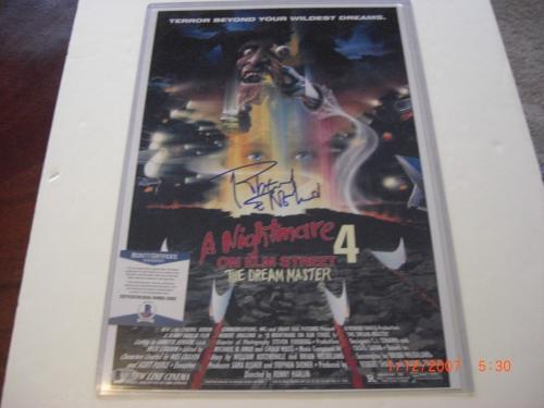 Robert Englund Nightmare On Elm Street Beckett/coa Signed 12x18 Poster Photo