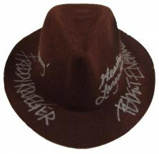 "Robert Englund ""Freddy Krueger""& Heather Langenkamp ""Nancy"" Signed Fedora Hat"