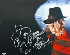 "Robert Englund ""Freddy Krueger"" Signed 16X20 Photo w/ Sketch BAS #I64610"