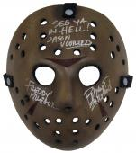 "Robert Englund ""Freddy Krueger"" Signed Jason Voorhees Hockey Mask A"