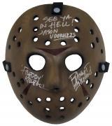 "Robert Englund ""Freddy Krueger"" Signed Jason Voorhees Hockey Mask A"