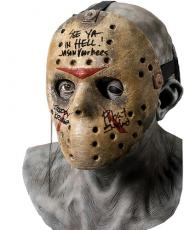 "Robert Englund ""Freddy Krueger"" Signed Jason Voorhees Hockey Mask B"