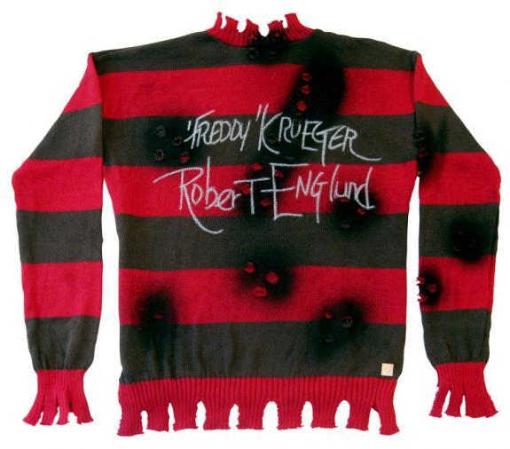"Robert Englund ""Freddy Krueger"" Signed Sweater"