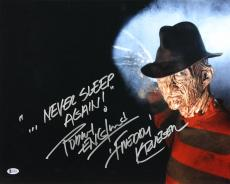 "Robert Englund Friday The 13th ""Never Sleep Again!"" Signed 16x20 Photo BAS"