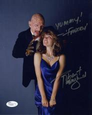ROBERT ENGLUND HAND SIGNED 8x10 COLOR PHOTO   AMAZING POSE   FREDDY KRUEGER  JSA