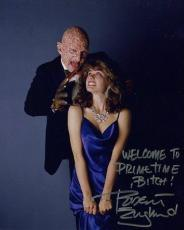 ROBERT ENGLUND HAND SIGNED 8x10 COLOR PHOTO+COA      BEST POSE AS FREDDY KRUEGER