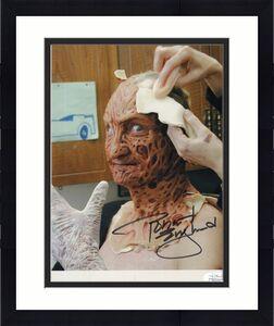 ROBERT ENGLUND HAND SIGNED 8x10 COLOR PHOTO+COA    LAST MAKE UP   FREDDY KRUEGER