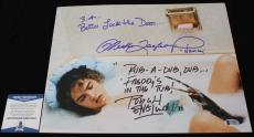 Robert Englund Heather Langenkamp signed 11x14,Nightmare on Elm St, Beckett BSA3