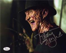 ROBERT ENGLUND Nightmare Autographed Signed 8x10 Photo Certified Authentic JSA !