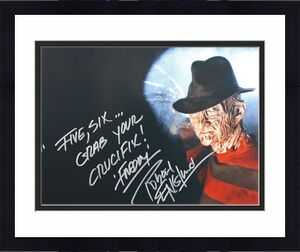 "Robert Englund Nightmare On Elm St ""Five, Six..."" Signed 16X20 Photo BAS #I64596"